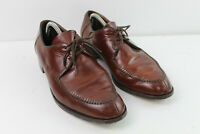 CHEANEY Brown Leather Derby Lace Up Shoes size 9