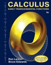 Calculus : Early Transcendental Functions by Ron Larson and Bruce H. Edwards...