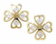 Luck Yellow Gold Fine Earrings