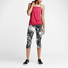 Nike Women's Legendary Marble Capris Sz S 699509 010 Yoga Fitness Pants $135