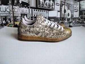 2002 Adidas Superstar Clr Clear 147466 Mens US 9 Rare Vintage