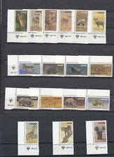 TIMBRE STAMP 17 SWA NAMIBIE Y&T#433-49 FAUNE ANIMAL NEUF**/MNH-MINT 1980 ~A97