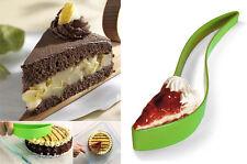 Cake Server Slice & Hold Serve Pie Slicer Layer Kitchen Utensil Knife Lifter A