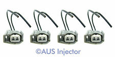 Set of 4 Fuel Injector Connector Pigtails fit TOYOTA [TOYF-4]