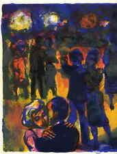 TANZ im CAFEHAUS - Walter SPITZER 1964 - Limit.Orig.Farblithographie ZEITd.REIFE