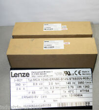 LENZE SERVO MOTOR MCA 10i40-ernb0-b14n-dt6s00n-r0su Motor servomotors