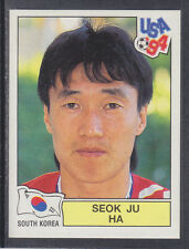 Panini - USA 94 World Cup - # 210 Seok Ju Ha - South Korea (Green Back)