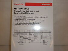 HONEYWELL COMMERCIAL CONVENTIONAL SUBBASE Q7300G2005