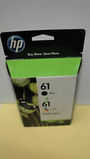HP 61 Original Tri color & Black ink cartridge combo Pack 2019 OEM NIB CR259FN