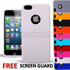 For Apple iPhone 5 5s Case Soft silicone gel rings design durable bumper