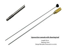 Liposuction Cannula with Cleaning Tool 3mm X 30cm Mercedes Design ARTMAN brand