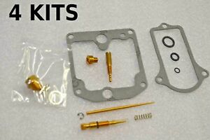 4x Kawasaki 77-81 KZ1000 KZ1000A KZ1000C Police Carburetor Carb Rebuild Kit