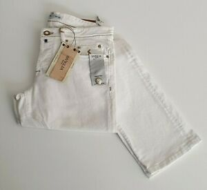 Siviglia SP01WW1U14 Jeans Uomo Rammentato Bianco in Cotone | -68 % OCCASIONE |