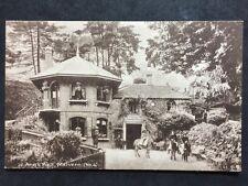 More details for rp vintage postcard - worcs #b - st ann's well, malvern - children on donkeys