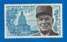 TIMBRE FRANCE 1970 - N° 1630 - ALPHONSE JUIN / MARECHAL DE FRANCE - MNH