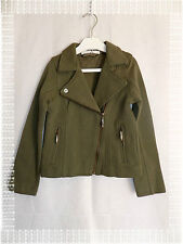 Chaqueta D Corto Verde Kiwi Teddy Smith Girly Modelo Tedder Talla de 8 años