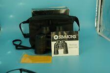 Simmons Euro 7x35 Wide Angle Binoculars Model SPL 70103  case & more