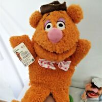 Disney The Muppet Show Fozzie Bear baby Hand puppet Plush Interactive Toy