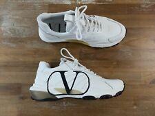 $895 Valentino Garavani white Vltn Vlogo bounce sneakers - 11 Us / 44 Eu / 10 Uk