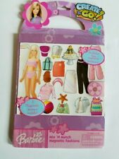Create & Go Barbie Mix & Match Magnetic Fashions 2005 New Factory Sealed