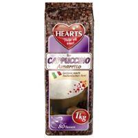 Hearts Cappuccino Amaretto 10 x 1kg