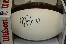 HOF LA'ROI GLOVER SIGNED AUTHENTIC PANEL  FOOTBALL PSA/DNA