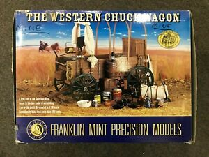 Franklin Mint The Western Chuck Wagon  New, not displayed!