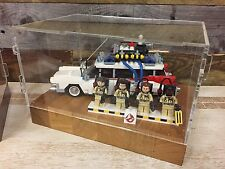 Deluxe Hardwood & Clear Acrylic Display Case for LEGO Ghostbusters