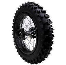 80/100-12 Inch Rear Back Disc Brake Wheel Rim Knobby Tyre Tire Pit Pro Dirt Bike