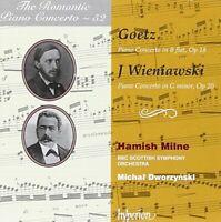 Coull Quartet - Goetz/ Wieniawski: Romantic Piano Concerto 52 (Piano [CD]