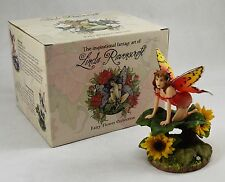 Boxed & Signed Fairy/Pixie Figure/Statue 'Sunflower' - Linda Ravenscroft NEW!