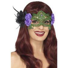 brodé lacets filigrane sorcière Masque pour les yeux Halloween