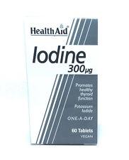 Health Aid Iodine 300ug - 60 Tablets Promotes healthy thyroid function