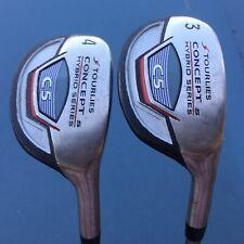 2 Tour Lies C5 Series Concept S 3 & 4 Hybrid Woods Golf Cub Graphite UST Shaft C