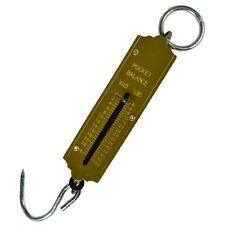 Luggage / Fishing Pocket Spring Balance Weighing Measuring Scales Max 25 kgs