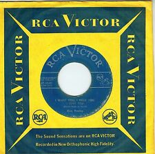 RARE CANADA FOLK 1950s FR QUEBEC 45 RPM ELVIS PRESLEY : I WANT YOU, I NEED YO