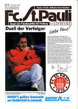 II. BL 87/88 FC St. Pauli - SC Freiburg, 01.11.1987