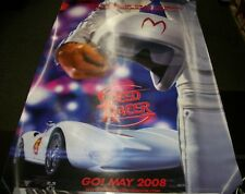 SPEED RACER DOUBLE-SIDED MOVIE POSTER - 2008