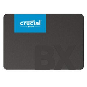 """kQ Crucial BX500 240 GB SSD 2,5"""" SATA III Festplatte 3D-NAND Flash intern"""