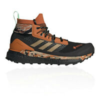 adidas Mens Terrex Free Hiker GORE-TEX Walking Shoes Black Brown Sports Outdoors