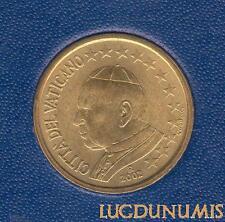 Vatican 2002 – 50 Centimes d'Euro – 65 000 exemplaires Provenant du coffret BU R