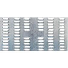 "100-Simpson Strong-Tie Galv Steel 20 Ga 3"" X 6"" Wood Mending Splice Plate MP36"