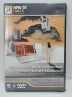 infinite skills Introduction to Amazon Web Services video training Dvd New