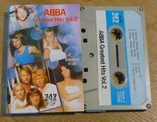 747 Cassette K7 Tape ABBA Greatest Hits Vol.2  4185