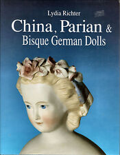 China Parian Bisque German Dolls Lydia Richter, Doll Marks ID Research