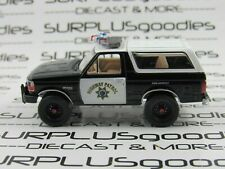 Greenlight 1:64 LOOSE 1995 FORD BRONCO 4X4 CHP California Highway Patrol Police