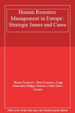 Human Resource Management in Europe: Strategic Issues and Cases .9780749403621