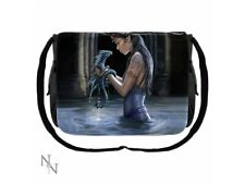 Anne Stokes Messenger Bag featuring Water Dragon design