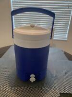 Vintage Plastic Igloo Legend 2  Gallon Cooler Dispenser Jug