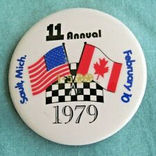 1979 I-500 Snowmobile Race  Entry Pin